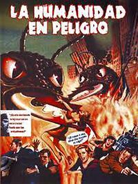 Cartel de cine clásico 1954