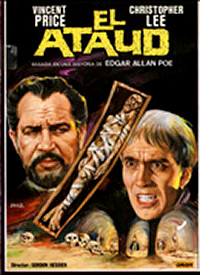 Cartel de cine terror 1969
