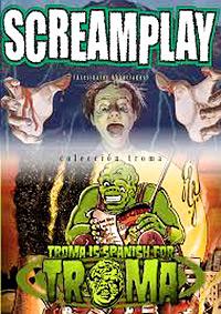 Cartel de cine terror troma 1985