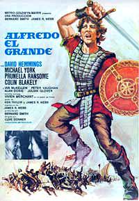 Cartel de cine aventuras historicas 1969
