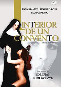Cartel de la película Interior de un convento