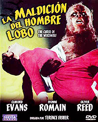 Cartel de cine terror 1961