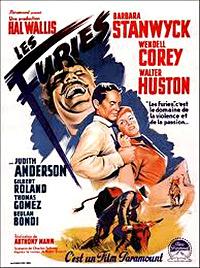 Cartel de cine oeste 1950
