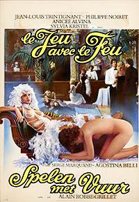 Cartel de cine erótico 1975