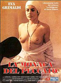 Cartel de cine nunsploitation erotico 1986