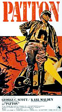 Cartel de cine belico 1970