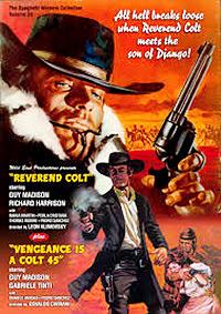 Cartel de cine oeste 1970